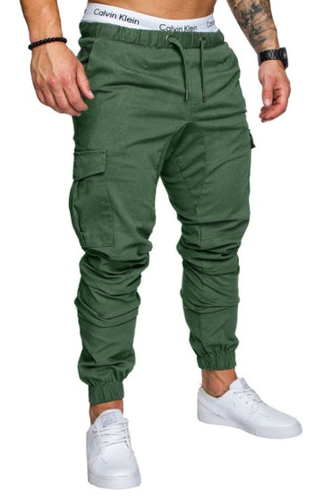 Print Beam Foot  Active Joggers Pencil Pants