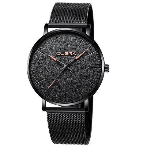 Luxury Ultra Thin Wrist Watches  Quartz Waterproof Watch