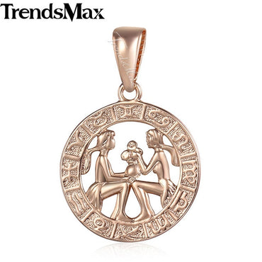 Zodiac Sign Constellations Pendants Necklaces