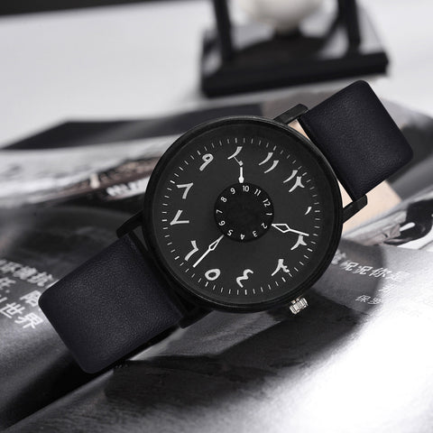 Vansvar Brand Black White Lover's Couple Watches