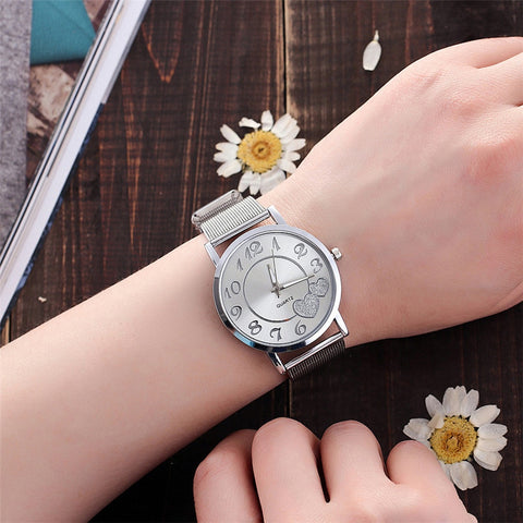Watches Stainless Steel  Quartz Wristwatches