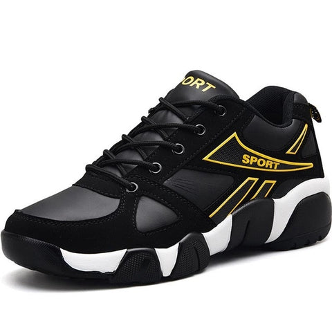 Leather  Sport Shoes Men Running Shoes