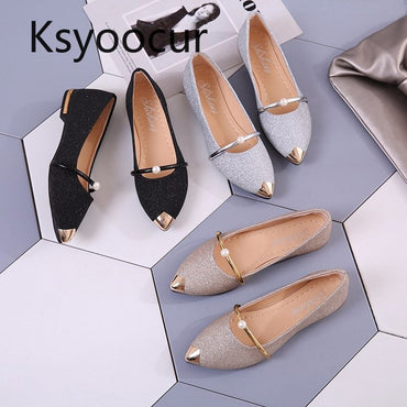 Casual  Shoes Comfortable Pointed Toe Flat Shoes