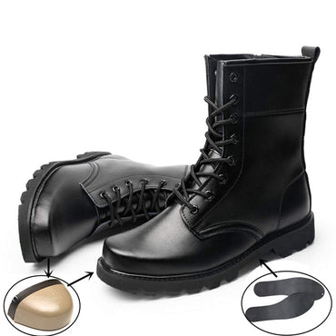 Steel Toe Cap Military Boots