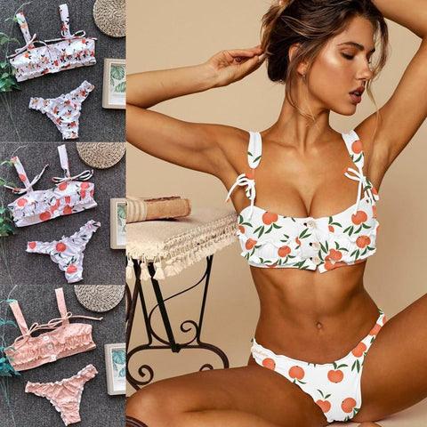 Hot Selling Sexy Floral Brazilian Bikini