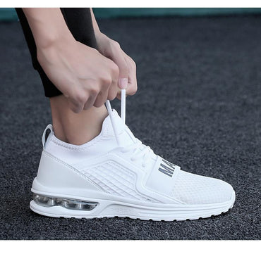 Air Cushion Tenis fashion shoes Damping White hot sneakers