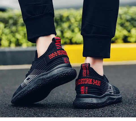 Breathable Casual fashion shoes Black Ultra Boost