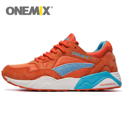 Retro Trend Men's Running Shoes for Women Breathable Walking Outdoor Sport Sneakers