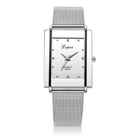 Luxury Brand Steel Ladies Watch Classic Business Wristwatch