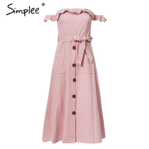 Simplee Sexy off shoulder ruffle  dress