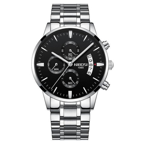 Quartz Watch Luxury Men's Chronograph Business Watches