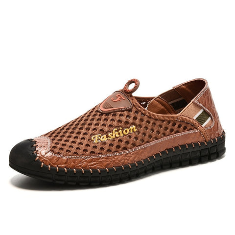 Men's Leather Casual Shoes Moccasins Men Loafers Luxury Brand Spring New Fashion Sneakers
