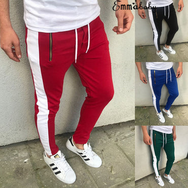 Fitness Running Joggers Trousers Sweatpants  Streetwear Cool Blue Black Green Red Pants