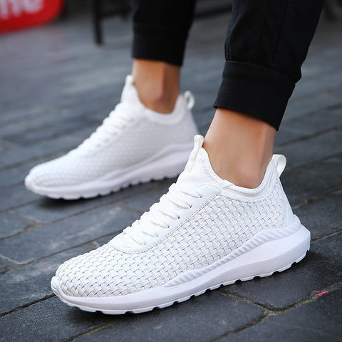 Brand White Shoes Sport  Hombre Sneakers f