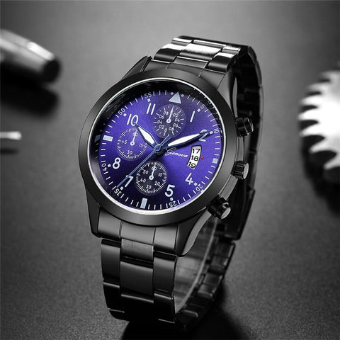 Men Fashion Sport Quartz  Top Brand Luxury Business Waterproof Watch