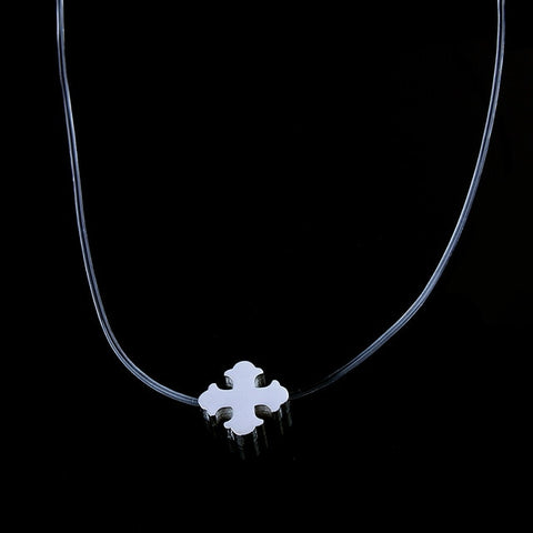 stainless steel  invisible chain necklace jewelry necklaces