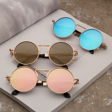Metal Round Shades Sunglasses