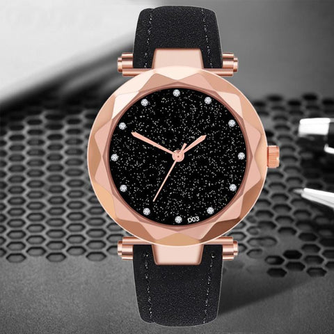 Fashion Luxury Brand Sky Starry Wristwatches
