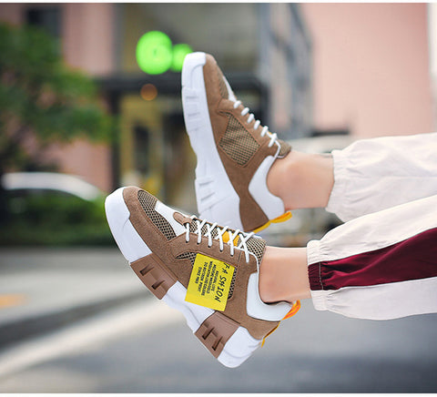 Hot Sale Spring High top Sneakers Cool StreetBrand Men Casual Shoes Fashion Male Shoes