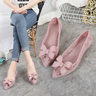 Rain Shoes Swim Pool Pointed Toe Breathable Flat Shoes