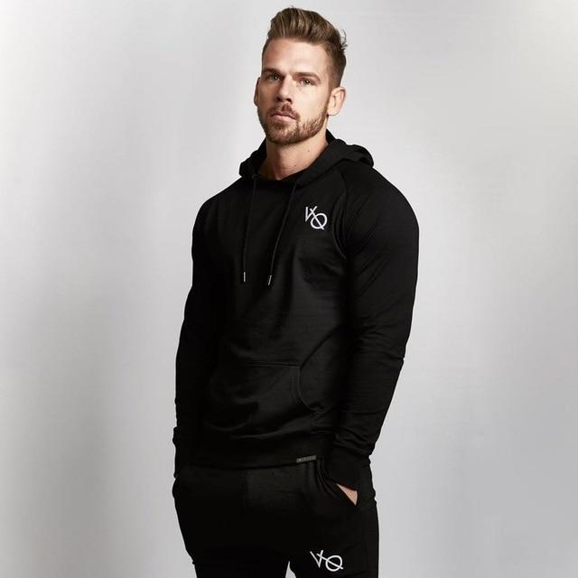 New Fashion Men Bodybuilding Hoodies