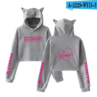 harajuku Cat Ear Cap Hoodies