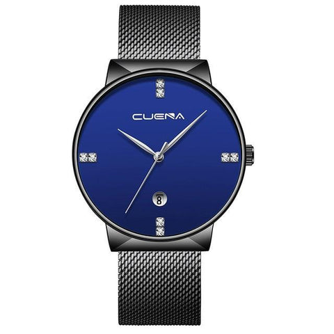 Wrist Watch Luxury Steel Strap Casual Quartz Ultra Thin Watches
