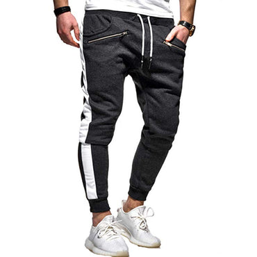 Two Bar  Hip Hop Casual Jogging Sports Pants