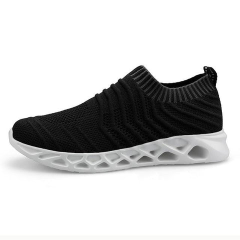 Flying Woven fashion shoes Lazy hot sneakers