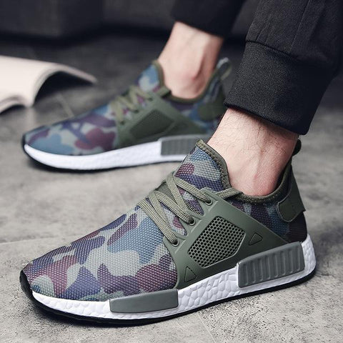 Camouflage Sport HotBreathable Outdoor Lace-up Light Running hot sneakers