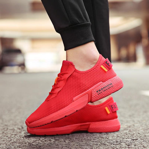Running Shoes Mesh Breathable