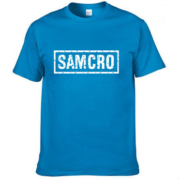 anarchy the child Fashion SAMCRO Print T-Shirt