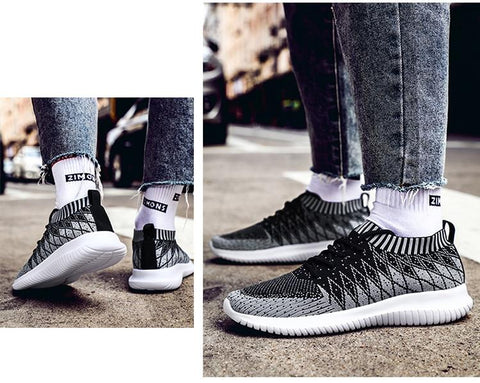 hot sneakers Casual Men Fashion Brand Breathable fashion shoes