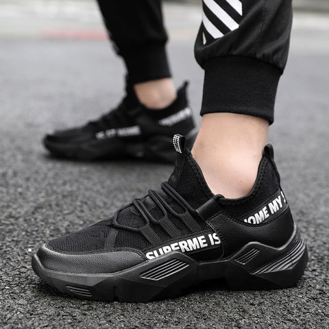 Hot Sale Men Sneakers Spring Summer Flats Casual Shoes Breathable Soft Outdoor Trainers