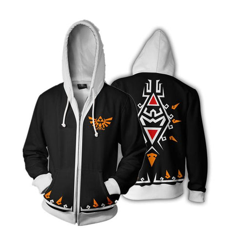 Wild Tops Full Zip Hoodies Casual Cool Coat Jacket Fashion