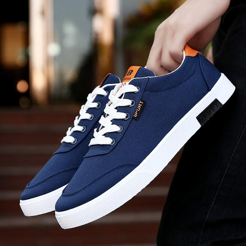 new fashion casual students white board shoes  breathable  canvas shoes