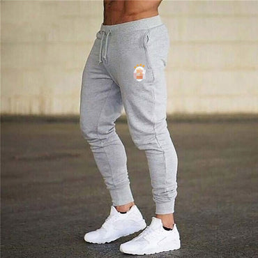 Tracksuit Bottoms Skinny Sweatpants Trousers Gyms Jogger Track Pants