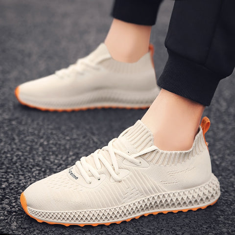 New Men Sneakers Shoes Socks  Running Shoes Men Outdoor Sport Shoes