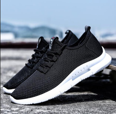 New Outdoors Adults Trainers Running Shoes Footwear Sport Athletic Unisex Breathable Mesh male Sneakers