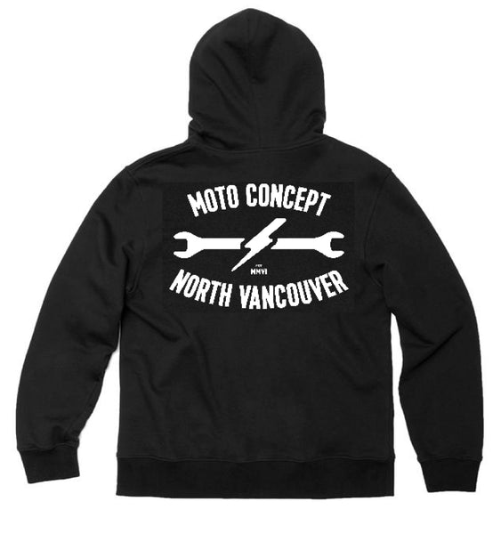 MCNV WRKR PULLOVER HOOD