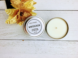 Wintergreen Aromatherapy Candle