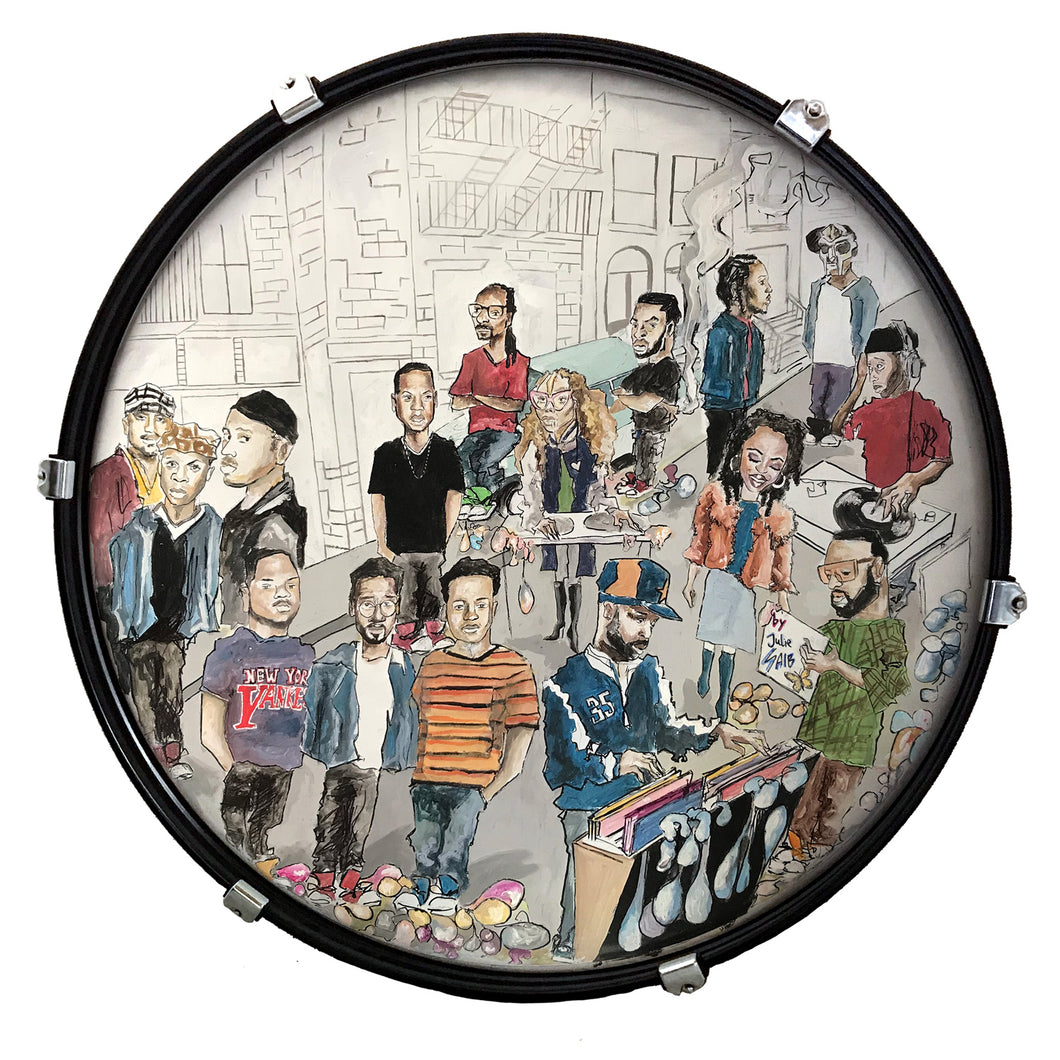 DRUM CANDY ART: HIP HOP (by Juliana Saib)