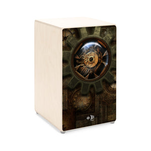 "CAJON (Sticker) - ""STEAMPUNK"""