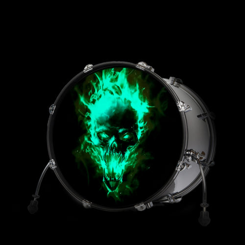 NEON SKULL (Glow in the dark)