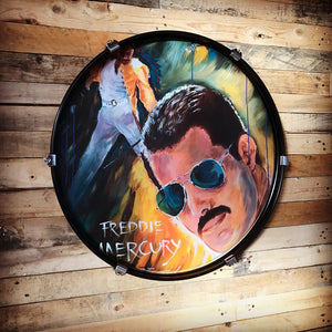 DRUM CANDY ART: FREDDIE MERCURY (by Frank Zander)