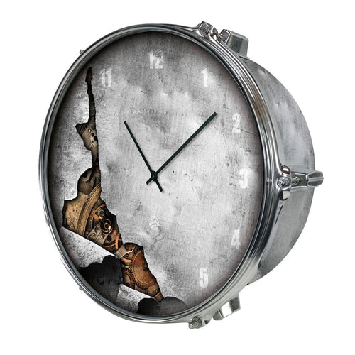 DRUM UHR - STEAMPUNK