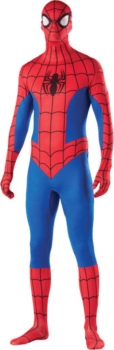 Spider-Man 2nd Skin - Theatrics Plus 658 Yonge St. Downtown Toronto Canadian Wigs Costumes Masks Makeup