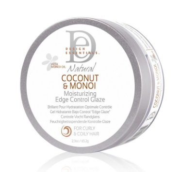 Coconut and Monoi Moisturizing Edge Control Glaze 2.3 oz - BEAUTYBEEZ