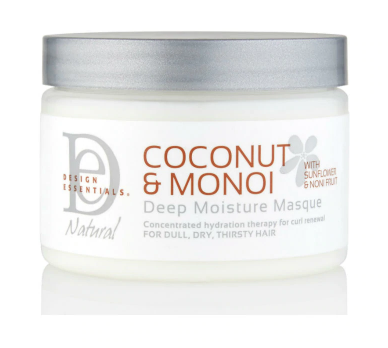 Coconut and Monoi Deep Moisture Masque 12 oz Hair Mask - BEAUTYBEEZ-beauty-supply