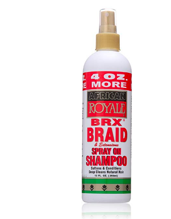 BRX Braid and Extension Spray On Shampoo - BEAUTYBEEZ
